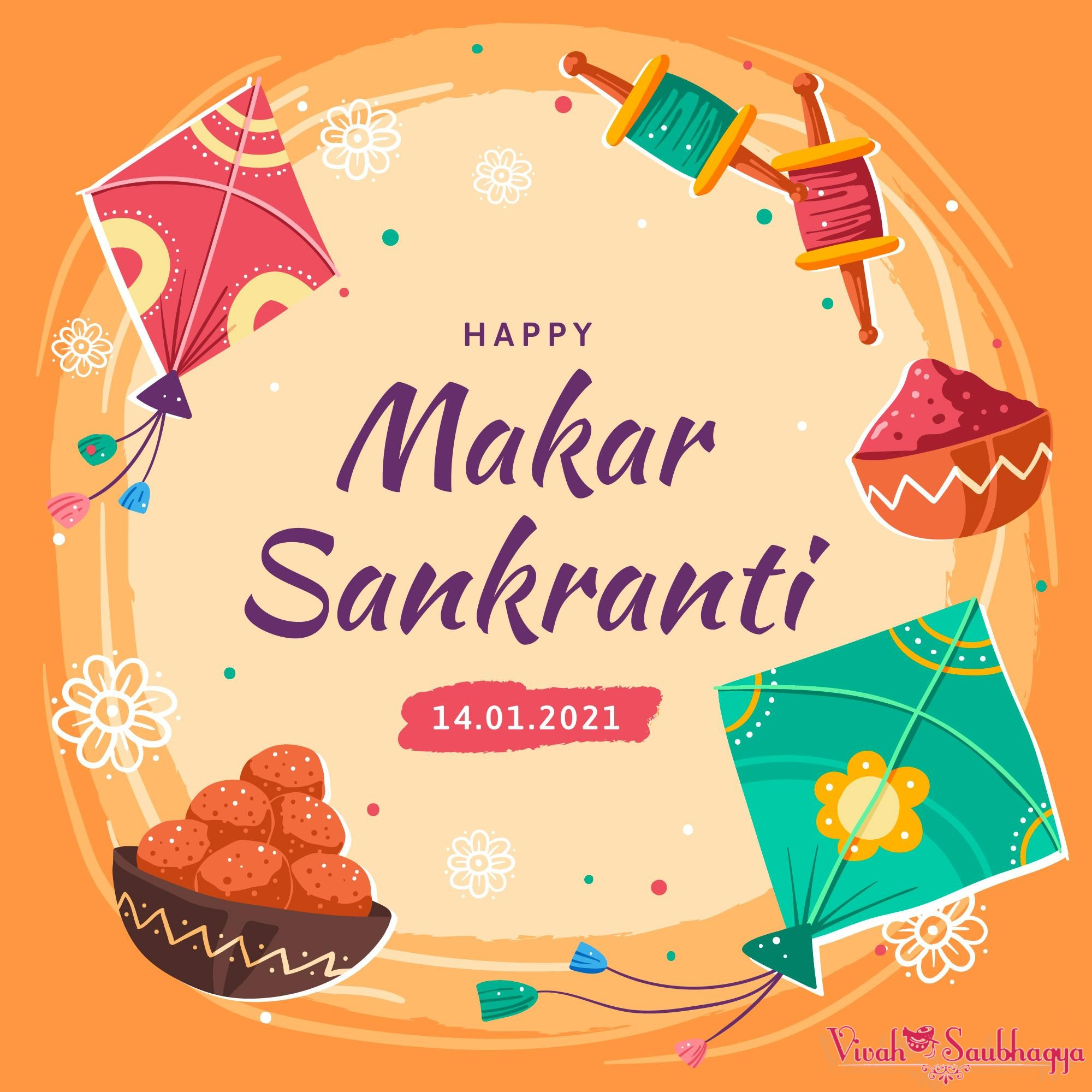 Happy Makar Sankranti – Healthy Beginning To 2021, festival of kites